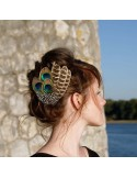 Grand Zozo Nature - Bibi plumes Séraphine Bijoux - Comptoir Doré