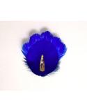 Grand Zozo Bleu - Bibi plumes Séraphine Bijoux - Comptoir Doré