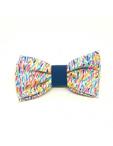 Noeud Papillon Colors - Noeud pap multicolore - Comptoir Doré