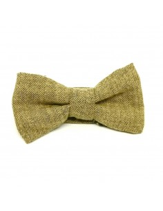 Noeud Papillon Tweed Beige