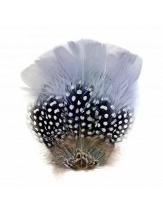 Grand Zozo Gris - bibi plumes mariage - Séraphine Bijoux - Comptoir Doré