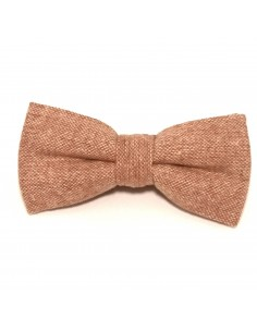 Noeud Papillon Tweed Marron - Comptoir Doré