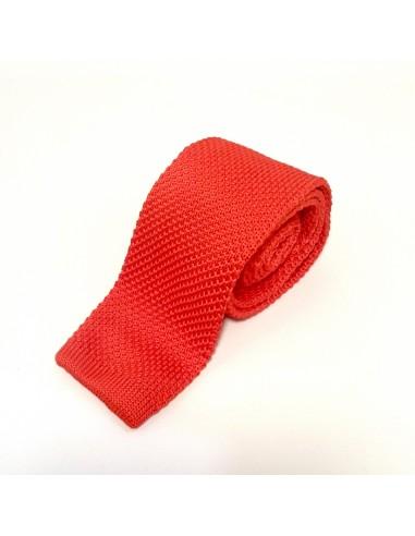 Cravate Rouge Coquelicot
