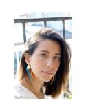 Boucles d'oreilles plumes Paloma - Séraphine Bijoux - Comptoir Doré