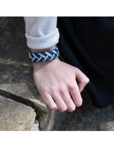 Bracelet Réversible Bleu