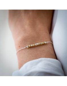 Bracelet Ouro Silver - Parabaya - Comptoir Doré