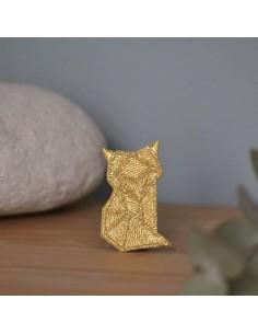 Broche Renard Origami