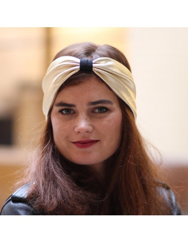 Bandeau Muse - headband doré - Comptoir Doré