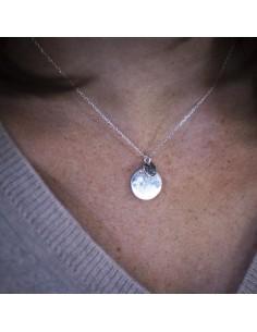 Collier Flor Silver