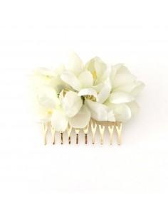 Peigne Fleurs de Cerisier - peigne mariée - Mathilde Forget - Comptoir Doré