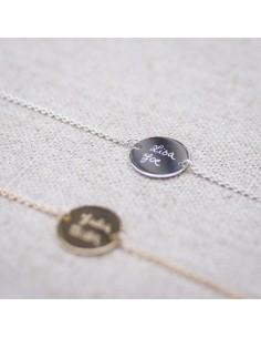 Bracelet à graver Maguary Silver - Parabaya - Comptoir Doré