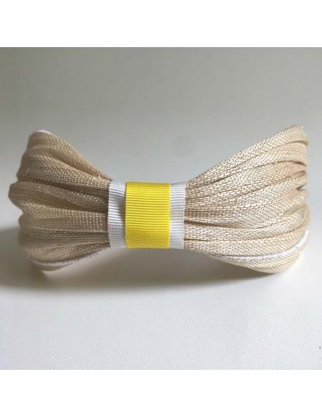 Bandeau Dastar Bride Couleur - Les Créations de Juliette - Comptoir Doré