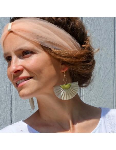 Boucles d'oreilles Abacail - Les Créations de Juliette - Comptoir Doré
