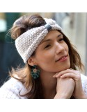 Boucles d'oreilles Yolaine - boucles d'oreilles écaille - MdeB Créations - Comptoir Doré