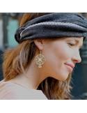 Boucles d'oreilles Flore - MdeB Créations - Comptoir Doré