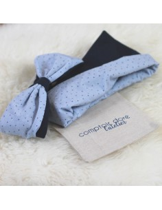 Duo bandeau & snood Blue Kids