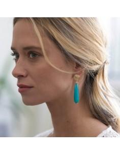 Boucles d'oreilles Emma - Mathilde Forget - Comptoir Doré