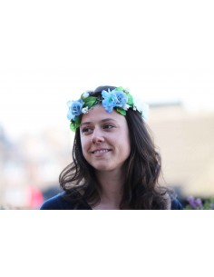 Couronne de fleurs Eleanor