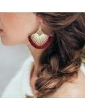 Boucles d'oreilles Osiris - Séraphine Bijoux - Comptoir Doré