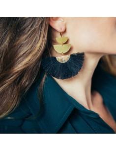 Boucles d'oreilles Luciana - Séraphine Bijoux - Comptoir Doré