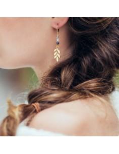 Boucles d'oreilles Ostia - Séraphine Bijoux - Comptoir Doré