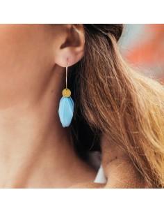 Boucles d'oreilles Colibri - Séraphine Bijoux - Comptoir Doré