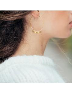 Boucles d'oreilles Olympe - Séraphine Bijoux - Comptoir Doré