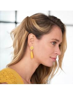 Boucles d'oreilles Reine