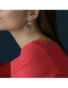 Boucles d'oreilles en argent Damia - Soiz Bijoux - Comptoir Doré