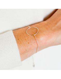 Bracelet O Silver