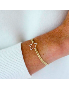 Bracelet Estrella Silver - Parabaya - Comptoir Doré