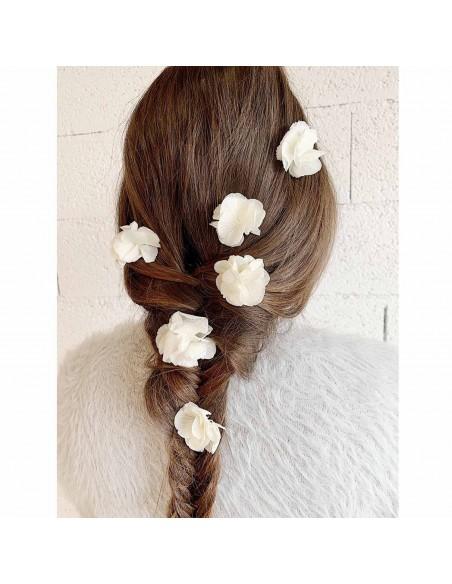 Epingles à cheveux mariée Hortensia - BFlower - Comptoir Doré