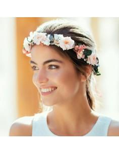 Couronne de fleurs Sully - fleurs stabilisées - Céligné Paris - Comptoir Doré