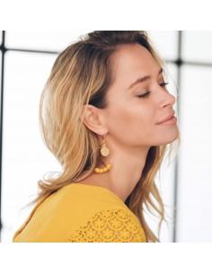 Boucles d'oreilles Ariane- Mathilde Forget - Comptoir Doré