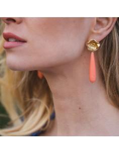 Boucles d'oreilles Eglantine