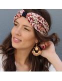 Boucles d'oreilles Bodri +  Boucles d'oreilles tissées - MdeB Créations - Comptoir Doré