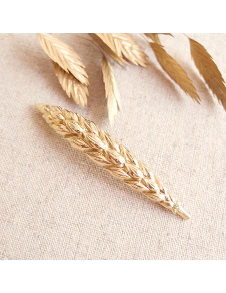 Barrette épi de blé Ashley - SIR Jane - Comptoir Doré