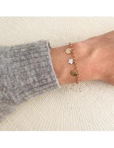 Bracelet Samba chaîne (à graver) - Parabaya - Comptoir Doré