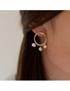 Boucles d'oreilles Sambaia