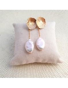 Boucles d'oreilles Hora - Parabaya - Comptoir Doré