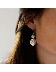 Boucles d'oreilles Palmas Silver