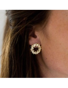 Boucles d'oreilles Cana - Parabaya - Comptoir Doré