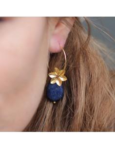 Boucles d'oreilles Lazzu - MdeB Créations - Comptoir Doré