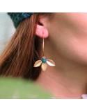 Boucles d'oreilles Faustine - MdeB Créations - Comptoir Doré