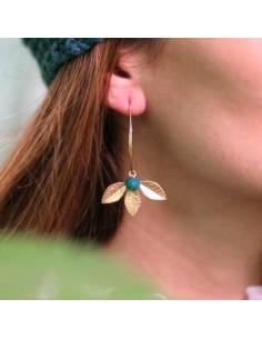 Boucles d'oreilles Faustine