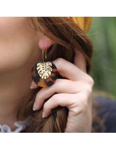 Boucles d'oreilles Gustaline - MdeB Créations - Comptoir Doré