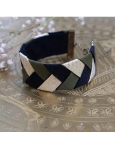 Bracelet Kaki x Noir
