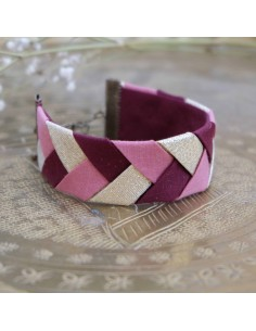Bracelet Bordeaux x Rose