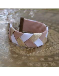 Bracelet Beige x Doré