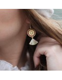 Boucles d'oreilles Capri - MdeB Créations - Comptoir Doré